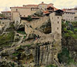 great meteoron monastery in meteora greece balkans