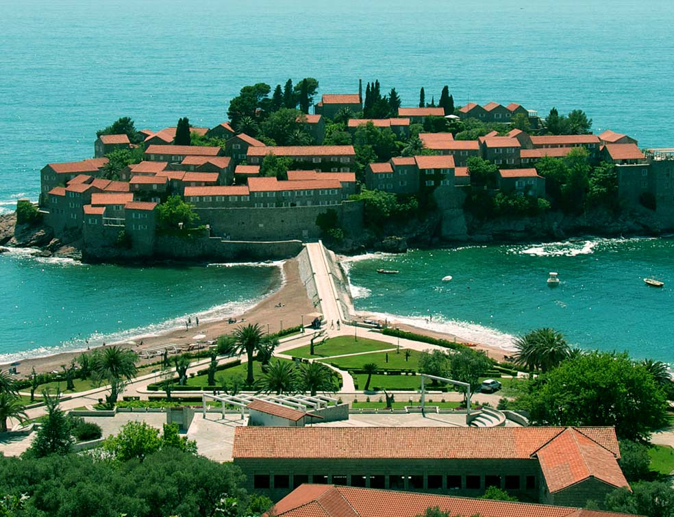 Montenegro, Sveti Stefan, Balkan Tours