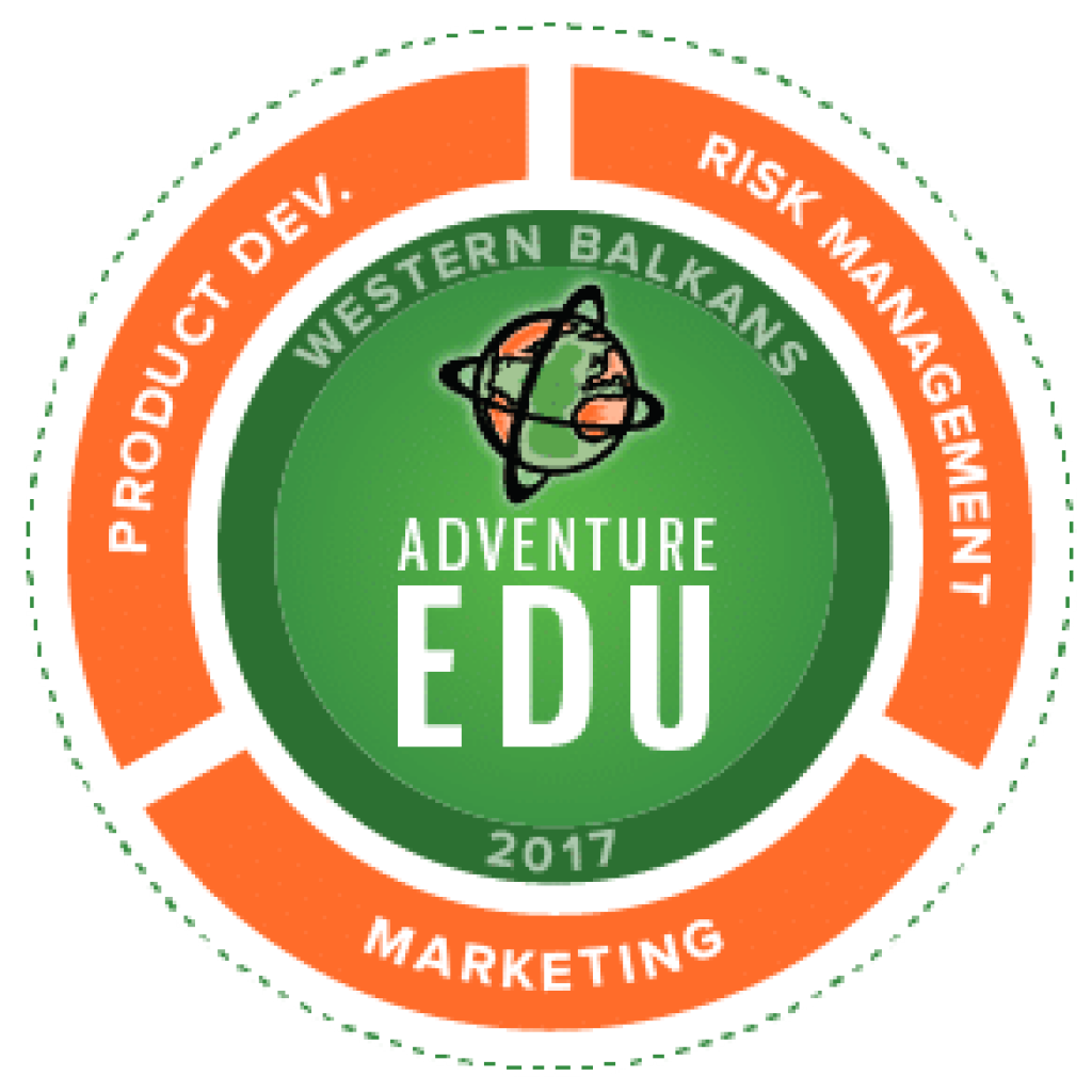 AdventureEDU Western Balkans Badge 300px