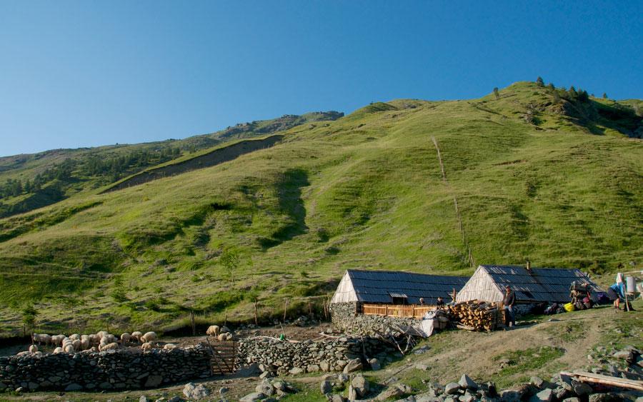 halil qerimi alpine huts sylbice albanian alps