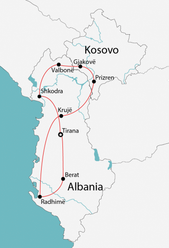 walking in albania map e1517177144170