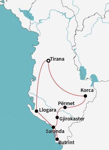 honey trail map