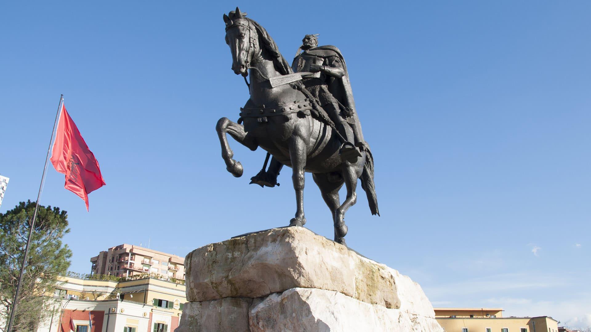 Skanderbeg Tirana Sondor Travel