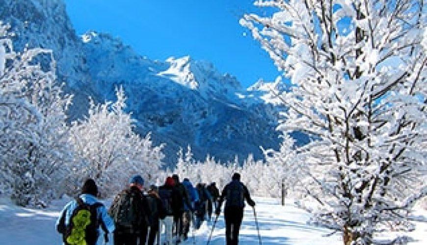 Snowshoeing in Kosovo Albania & Montenegro