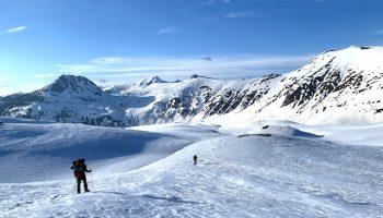 Snowshoeing Albania