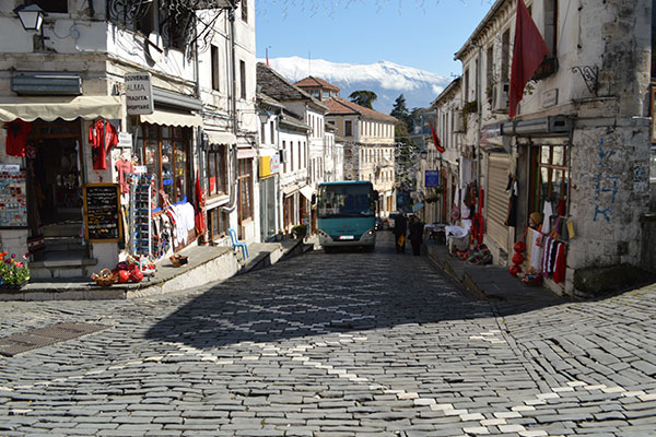 Downtown Gjirokastër