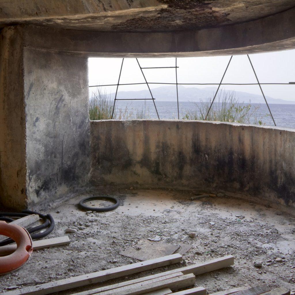 A storage bunker