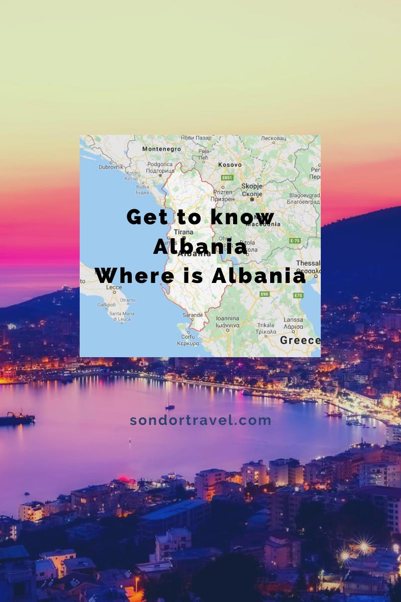Where is Albania