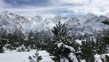 Albania snow