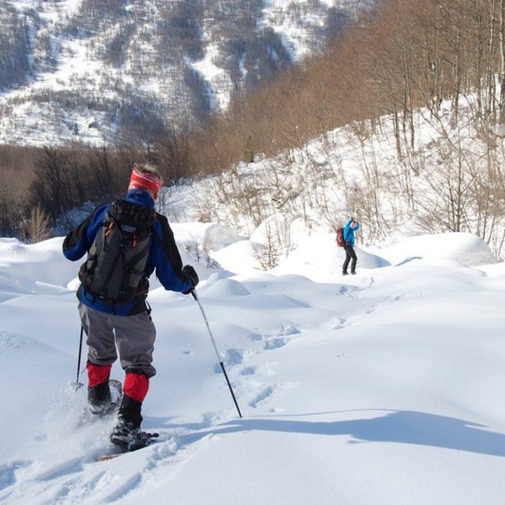 snow albania