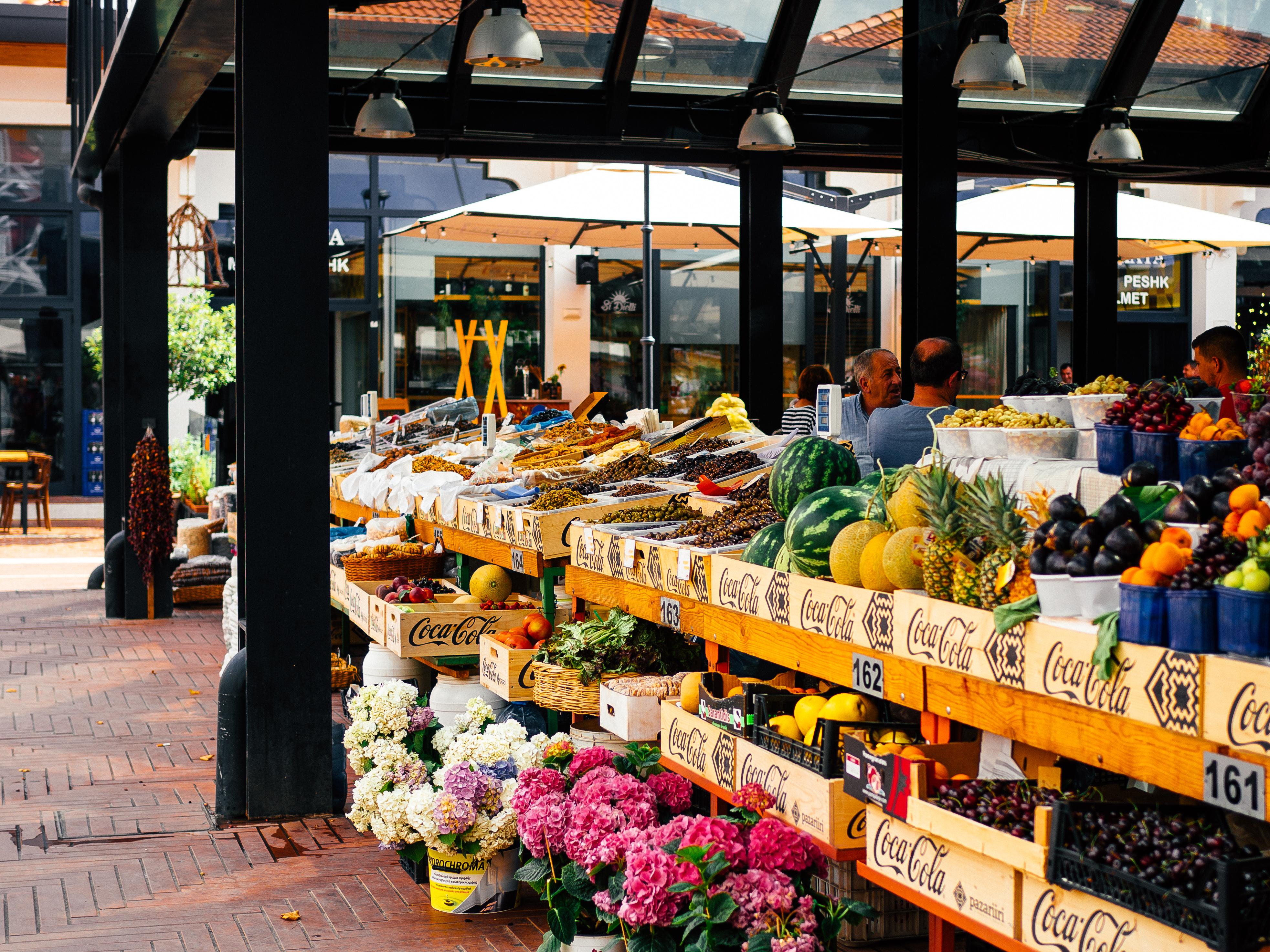 Market in Tirana