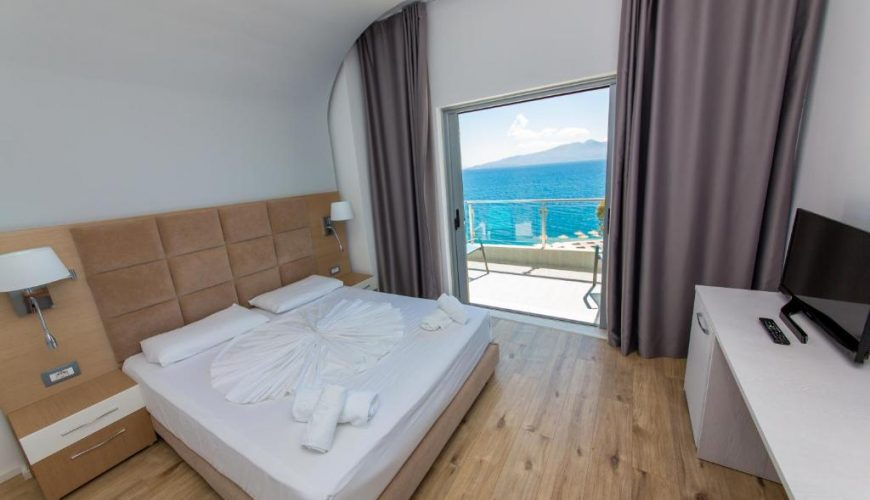 Start of dialog content Two-Bedroom Suite with Balcony and Sea View