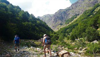 hiking albania