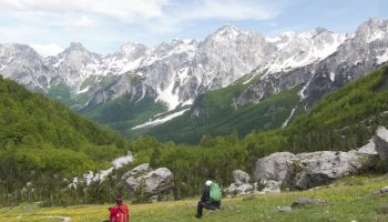 Theth to Valbona Hiking Trail