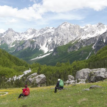 Theth to Valbona Hiking Trail
