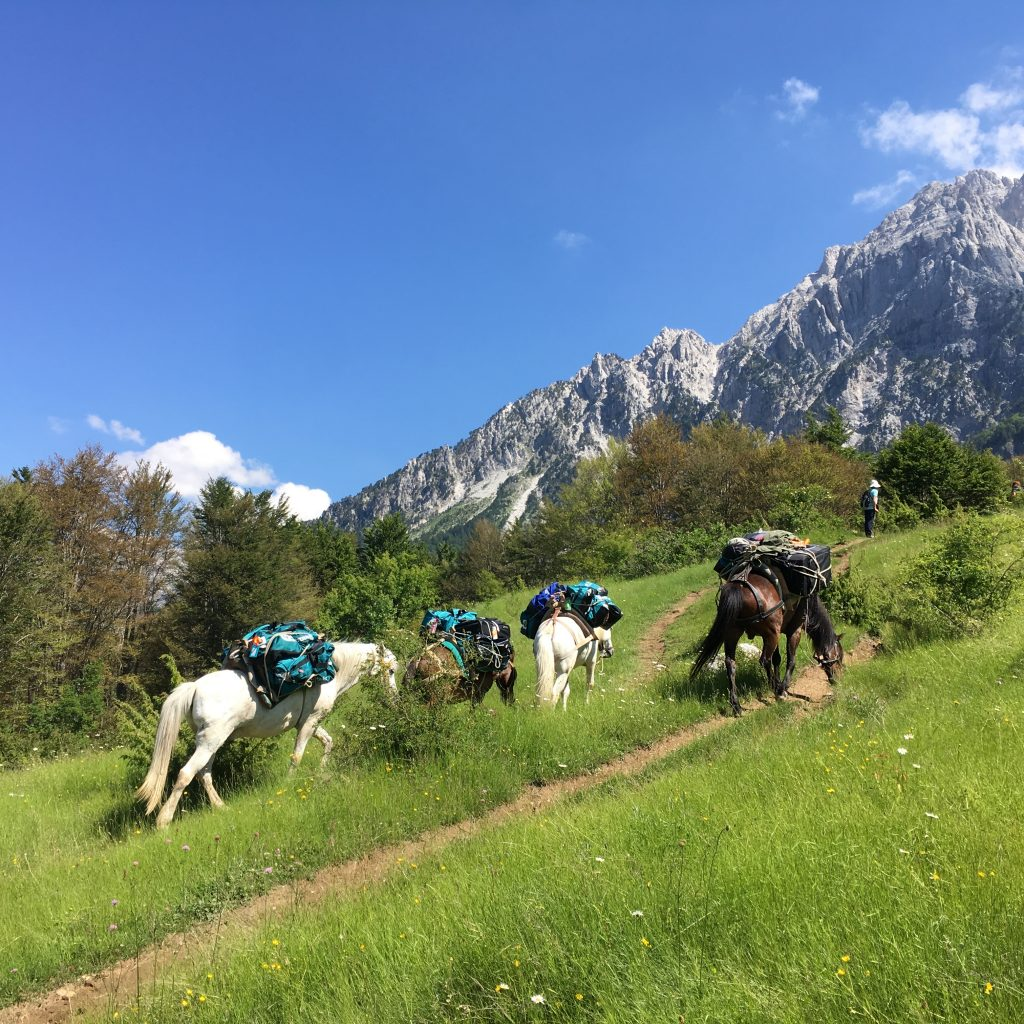 theth to valbona