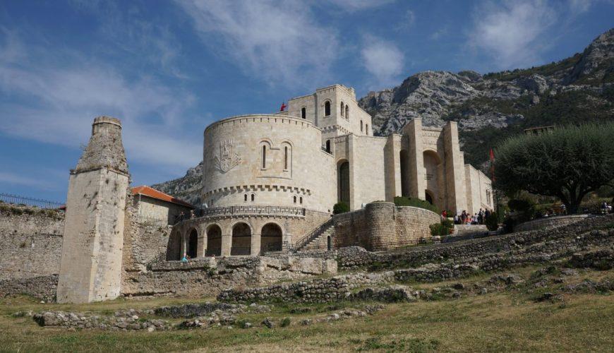 Kruja and Sari Saltik hiking tour from Tirana