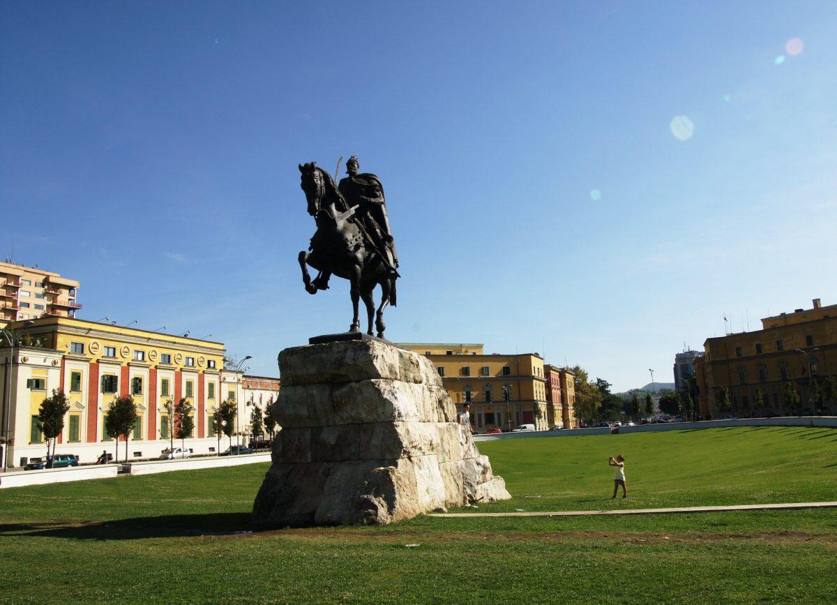 scanderbeg square